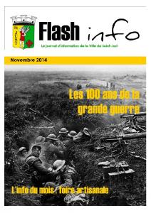 Flash Info Novembre 2014