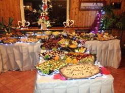 Das Buffet anlässlich des 100. Geburtstags des STK...
