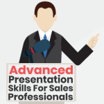 Infographic with helpful advice on presentation skills