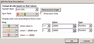 Conditional Formatting in Excel 2013
