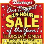Dierbergs Coupon Match Up October 13th – 19th