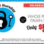 Dierbergs Last Super Secret Thursday Coupon