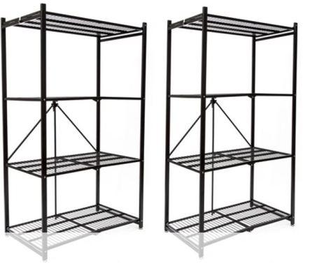 Origami R5-01 General Purpose 4-Shelf Steel Collapsible Storage ... | 378x453