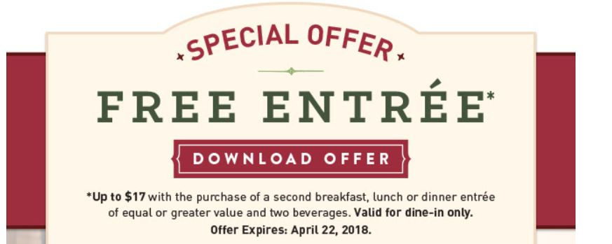image regarding Mimi's Coupons Printable referred to as Mimis Restaurant No cost Entree With Order - STL Mommy
