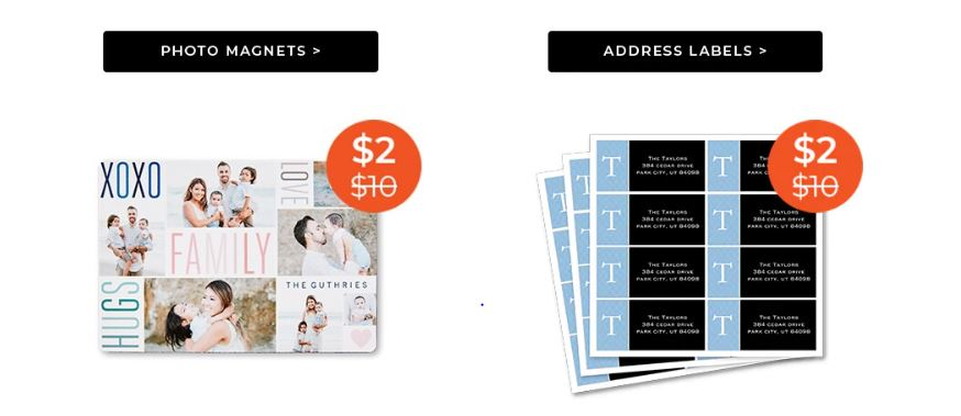Shutterfly 2 Photo Magnets And Address Labels Free Shipping When You Spend 5 Stl Mommy