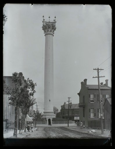 William Swekosky, Grand Avenue Water Tower at the Corner of 20th and Grand, Missouri History Museum, P0245-S03-00136-6G