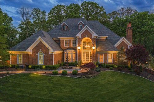 Executive Estate Nestled on Almost 4 Acres in Wildwood | 18040 Panorama Drive