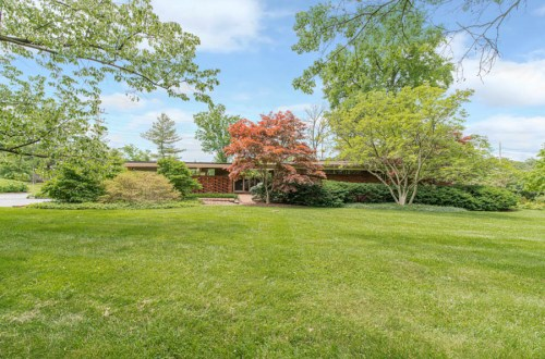 Closed: Isadore Shank Designed Home in Westwood | 10 Westwood Country Club
