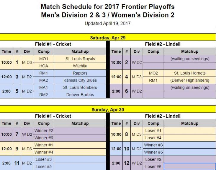 2017 Frontier League Playoffs St. Louis