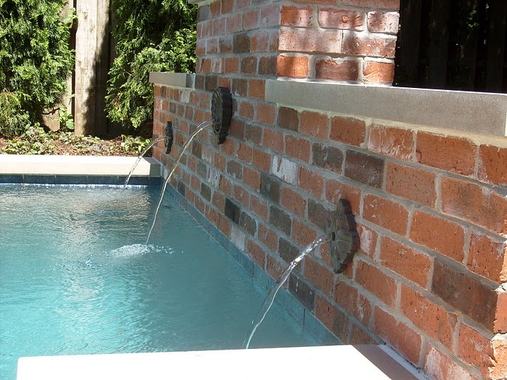 Baker Pool Construction Of St Louis Builders Backyard
