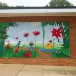crestwood school mural painting