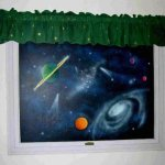 space mural painting