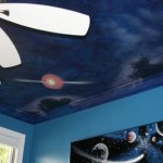space planet mural