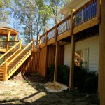 st. louis deck staining