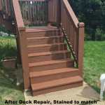 stl deck staining