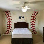 baseball mural
