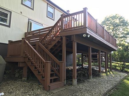 oakville deck staining