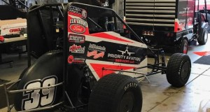 """The Clauson/Marshall Racing #39 that Ricky Stenhouse, Jr. will race this Thursday night, October 20 during the USAC National Midget Championship's """"Jason Leffler Memorial"""" at Wayne County Speedway in Wayne City, Illinois."""