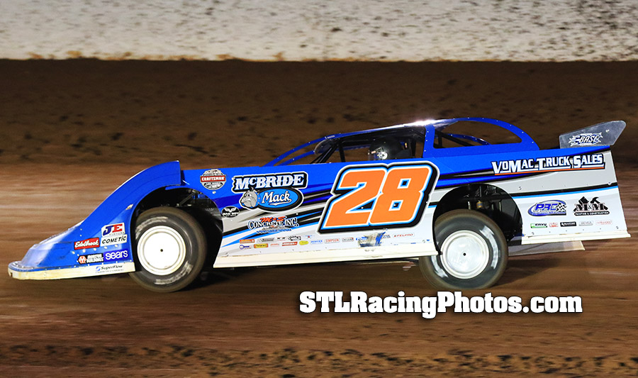 Dennis Erb, Jr. Steady Throughout Hectic Speedweeks; Eyes Clarksville Visit Next