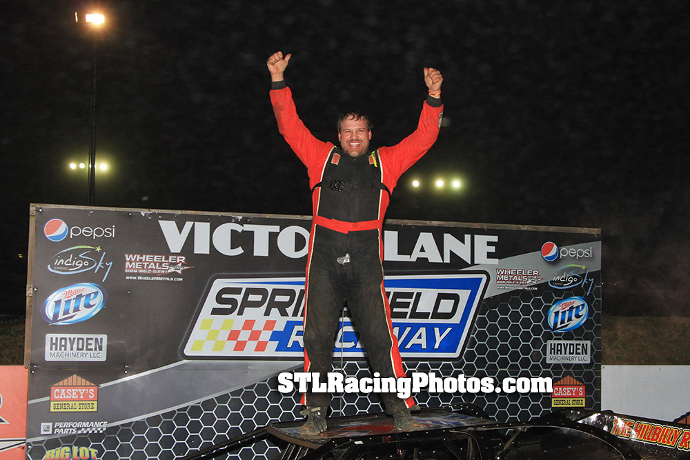 Scott Crigler, Ken Schrader, JC Morton & Grasyn Cox take Turkey Bowl wins at Springfield Raceway!