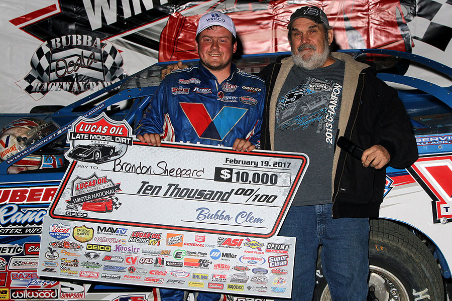 Sheppard Wins in Dramatic Fashion at Bubba Raceway Park