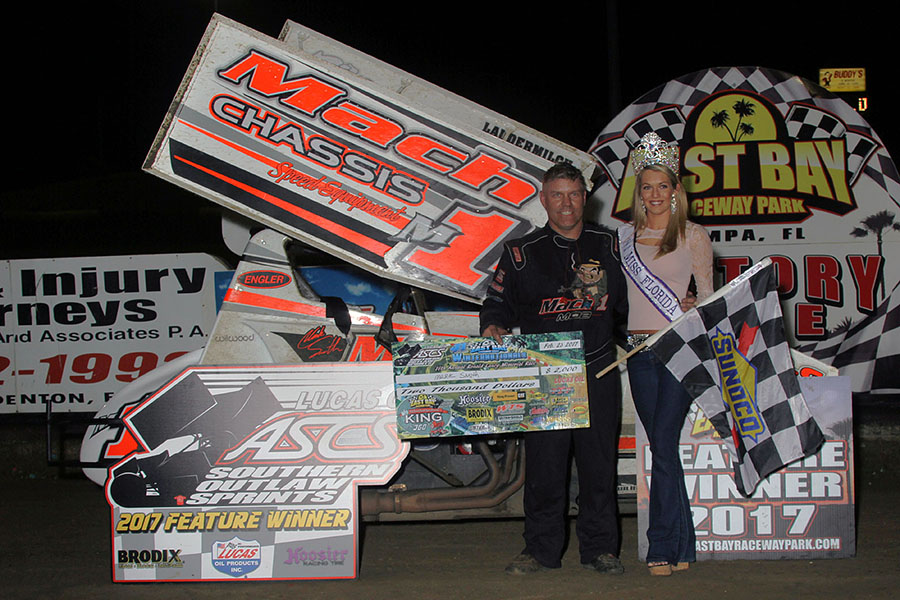Mark Smith Takes King of the 360's Opener With ASCS Southern Outlaw Sprints