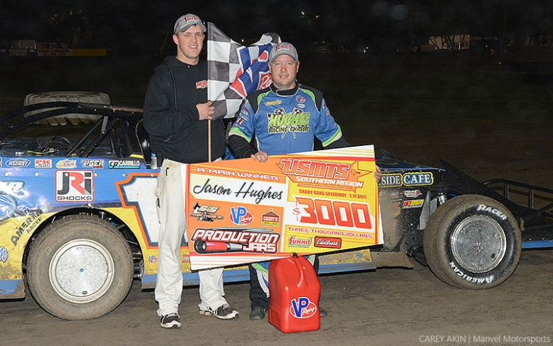 Hughes cuts through fog at Shady Oaks Speedway