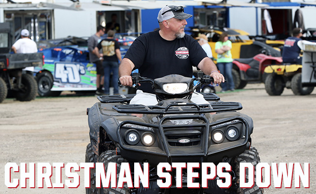 Christman Steps Down as Series Director of World of Outlaw Late Model Series