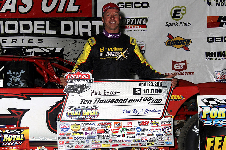 Rick Eckert Charges Late to Win Port Royal