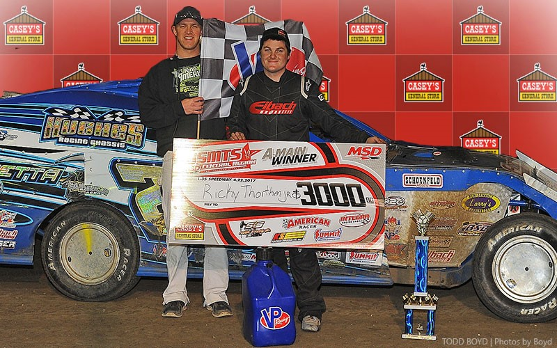 Thornton does it again, wins 9th Annual USMTS Missouri Meltdown