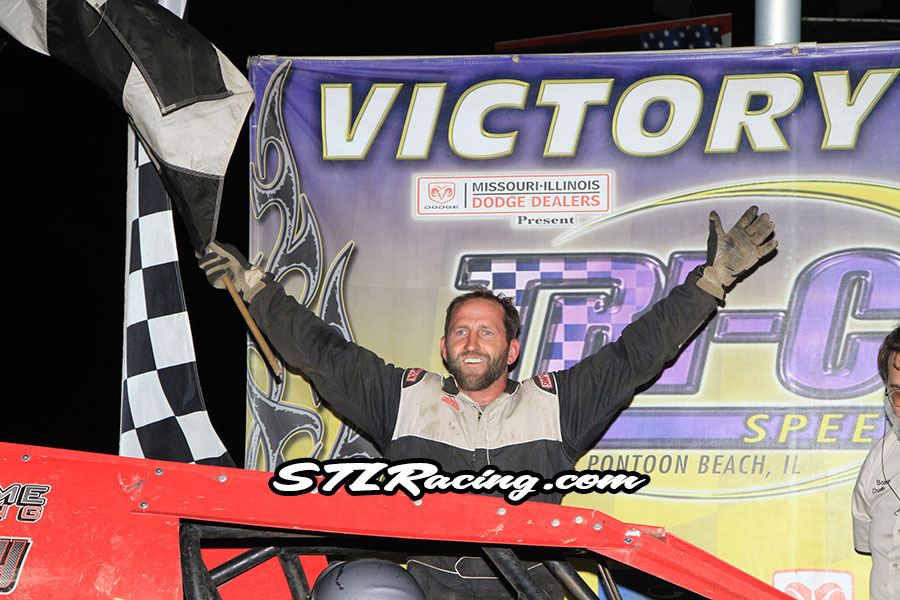 Chuck Goodman claims Busch Light B-Mod Bash win at Tri-City Speedway