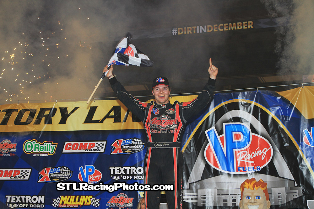 Bobby Pierce takes the Late Model win at the Gateway Dirt Nationals