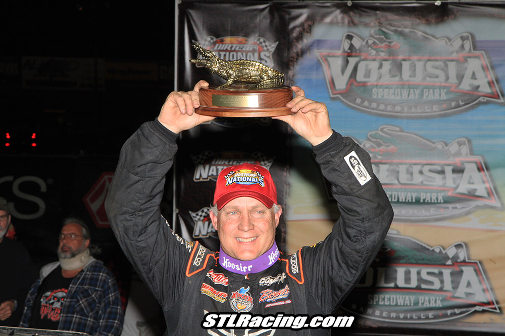 McDowell Charges from 15th to Victory at DIRTcar Nationals