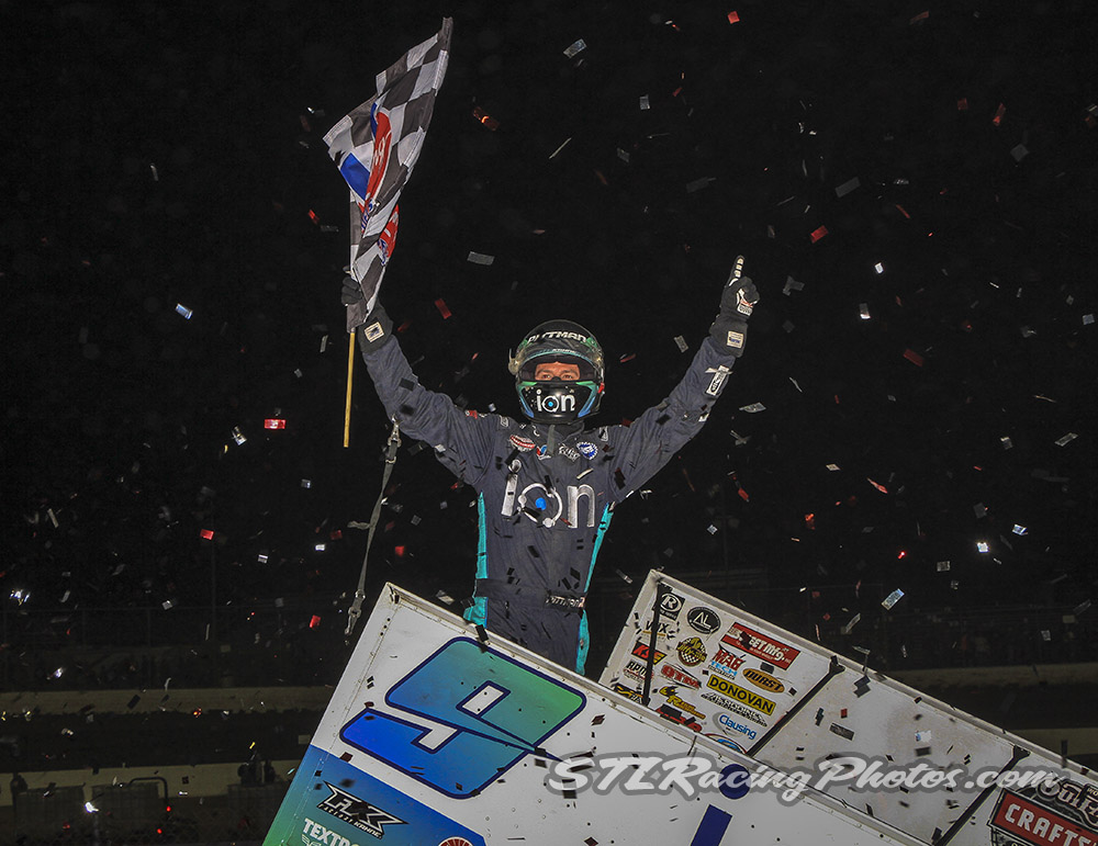 Pittman Goes Back-to-Back with Second Consecutive Win at Federated Auto Parts Raceway at I-55