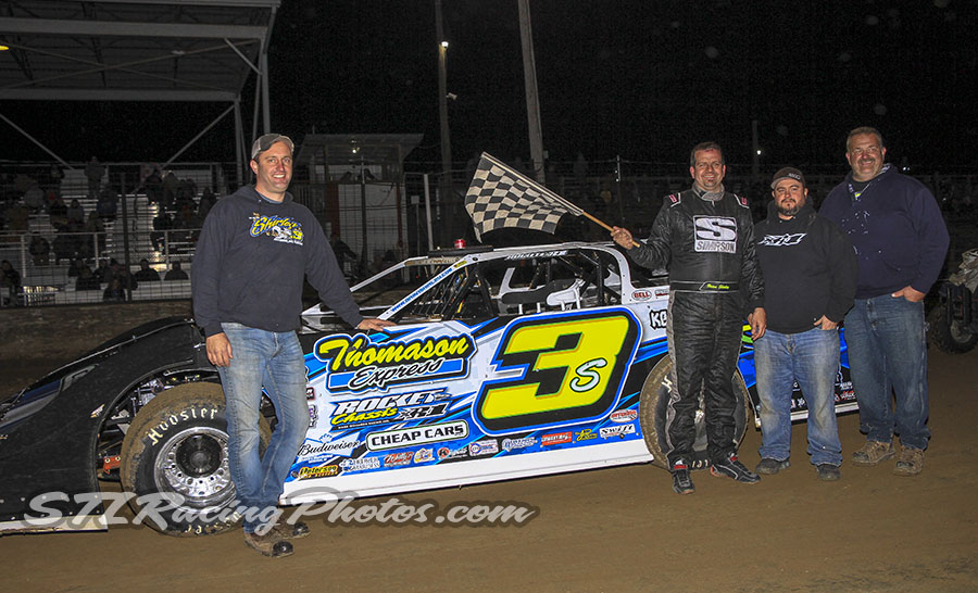Brian Shirley, Ray Bollinger, Trey Harris, Gary Walker & Jeremy Reed take wins at Fayette County Speedway Tuesday Night Thunder!