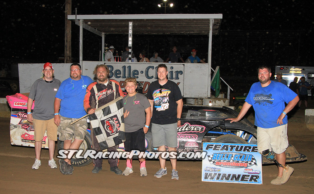 Belle-Clair Speedway Results - 5/27/18