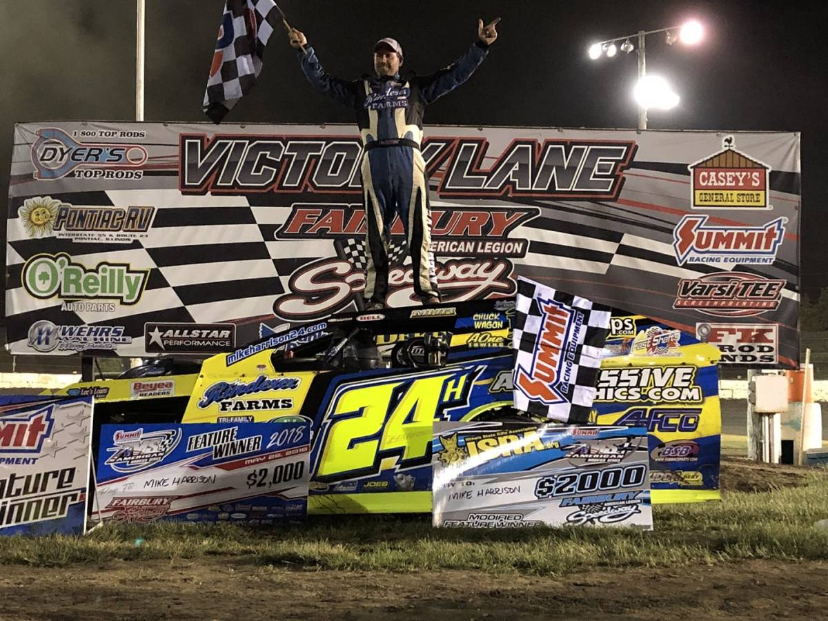 Harrison Dominates Summit Racing Equipment AMS at FALS