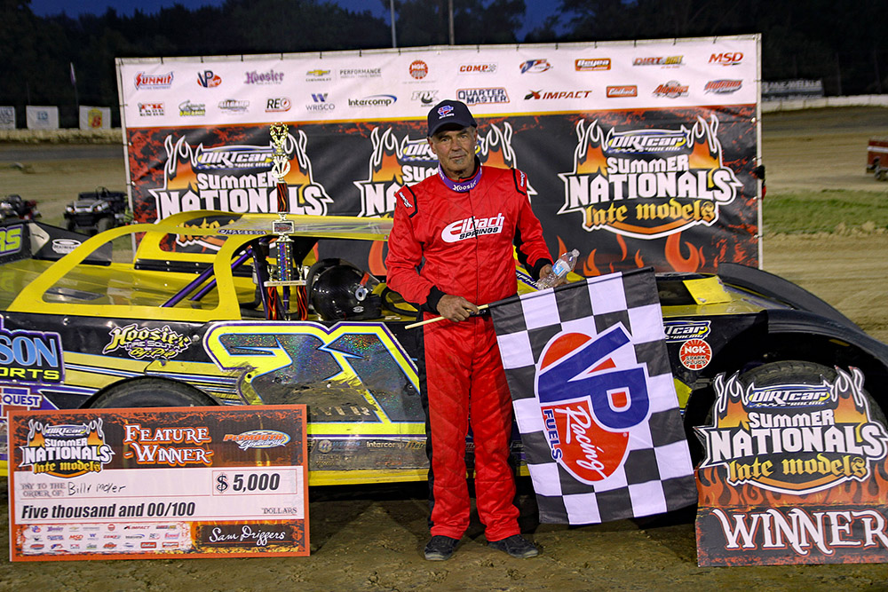 Billy Moyer takes Plymouth Speedway UMP DIRTcar Summer Nationals win!