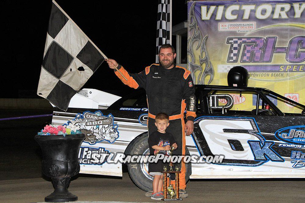 Michael Kloos, Mike Harrison, Trey Harris, Jake Little, Vance Wilson & Josh Fisher take wins at Tri-City Speedway!
