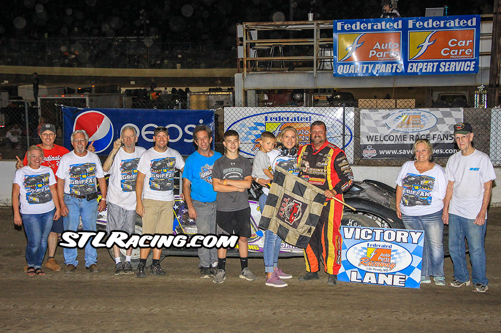 Rusty Griffaw, Trey Harris (twice), Chris Soutiea & Anthony Sunshine take wins at Federated Auto Parts Raceway at I-55