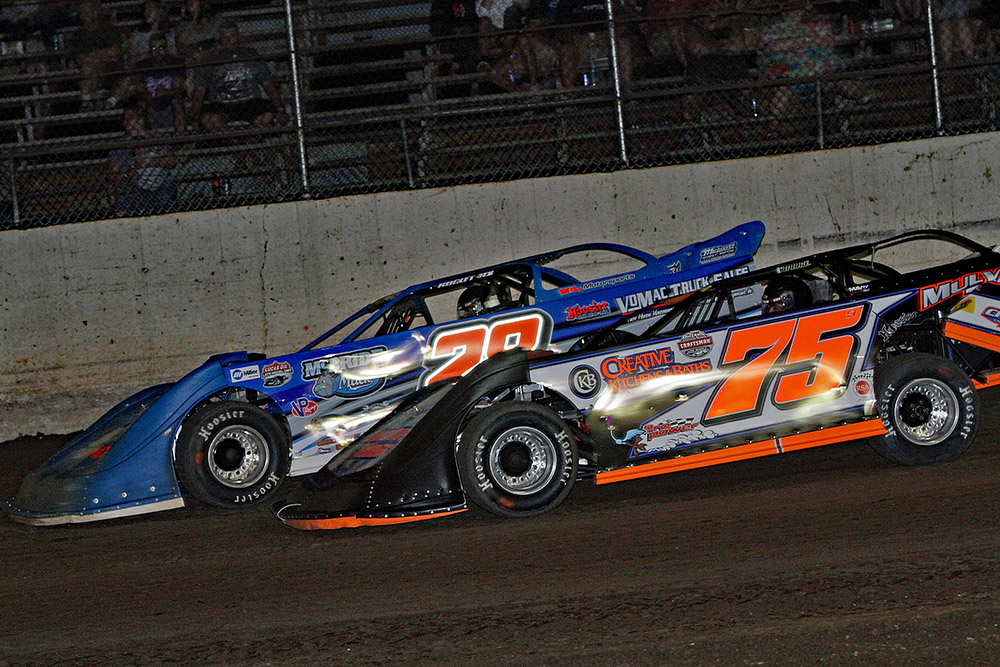 Jim Denhamer's photos from La Salle Speedway's Ethanol Late Model Series event - 8/18/18