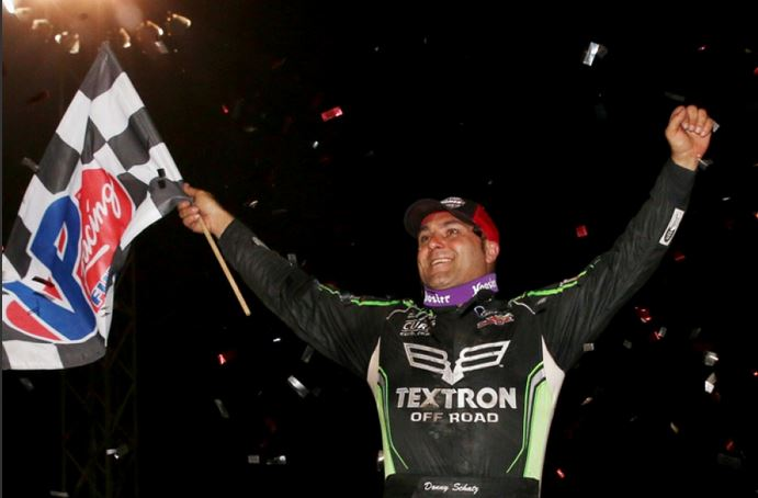 Donny Schatz doubles up at River Cities Speedway with Late Model win!