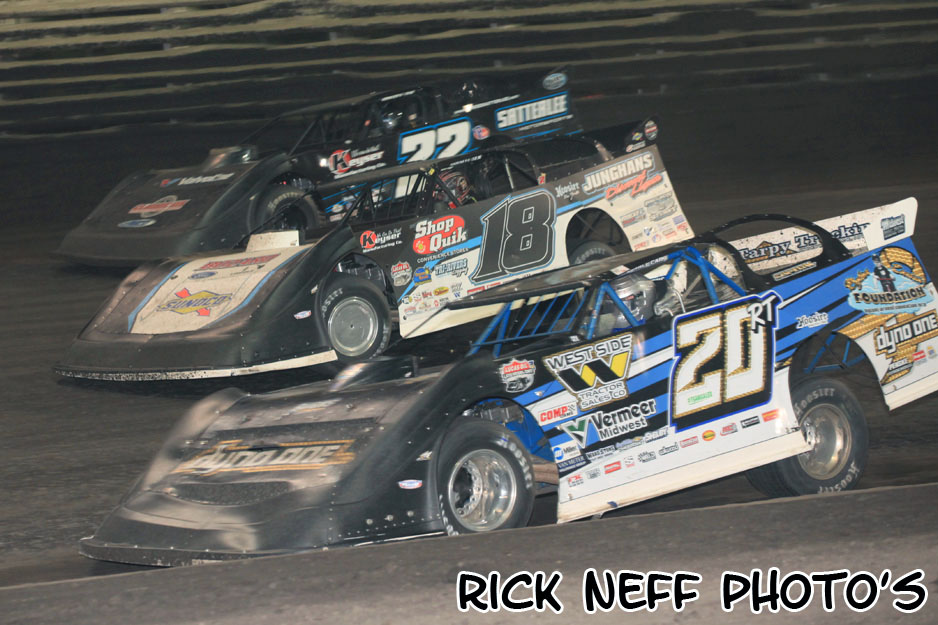 Rick Neff's photos from Knoxville Raceway's Late Model Nationals - 9/15/18