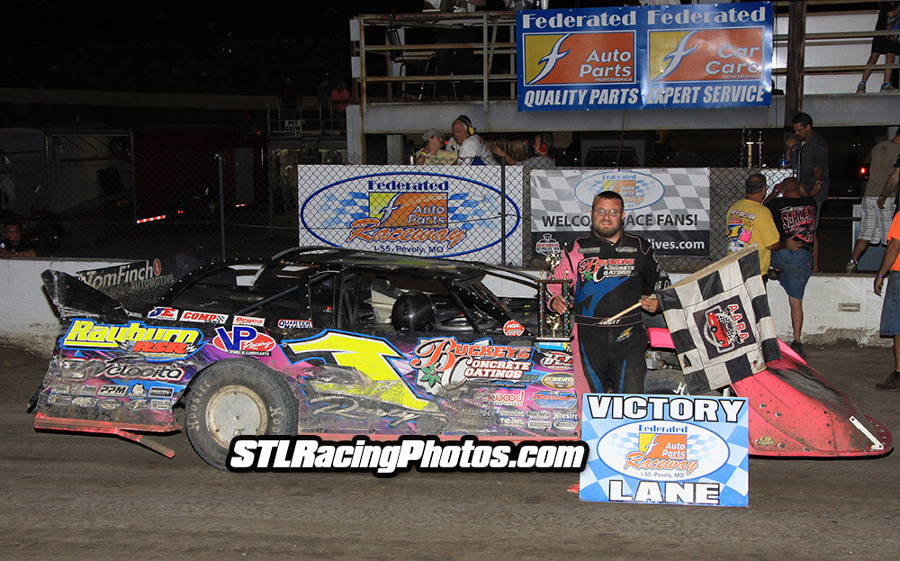 Rusty Schlenk, Will Krup, Jeff LeBaube, Gary Haynes & Josh Hawkins take wins at Federated Auto Parts Raceway at I-55