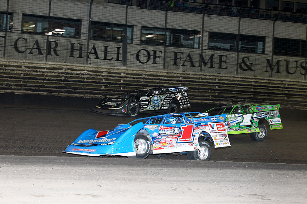 Mike Ruefer's photos from Knoxville Raceway's Late Model Nationals - 9/15/18