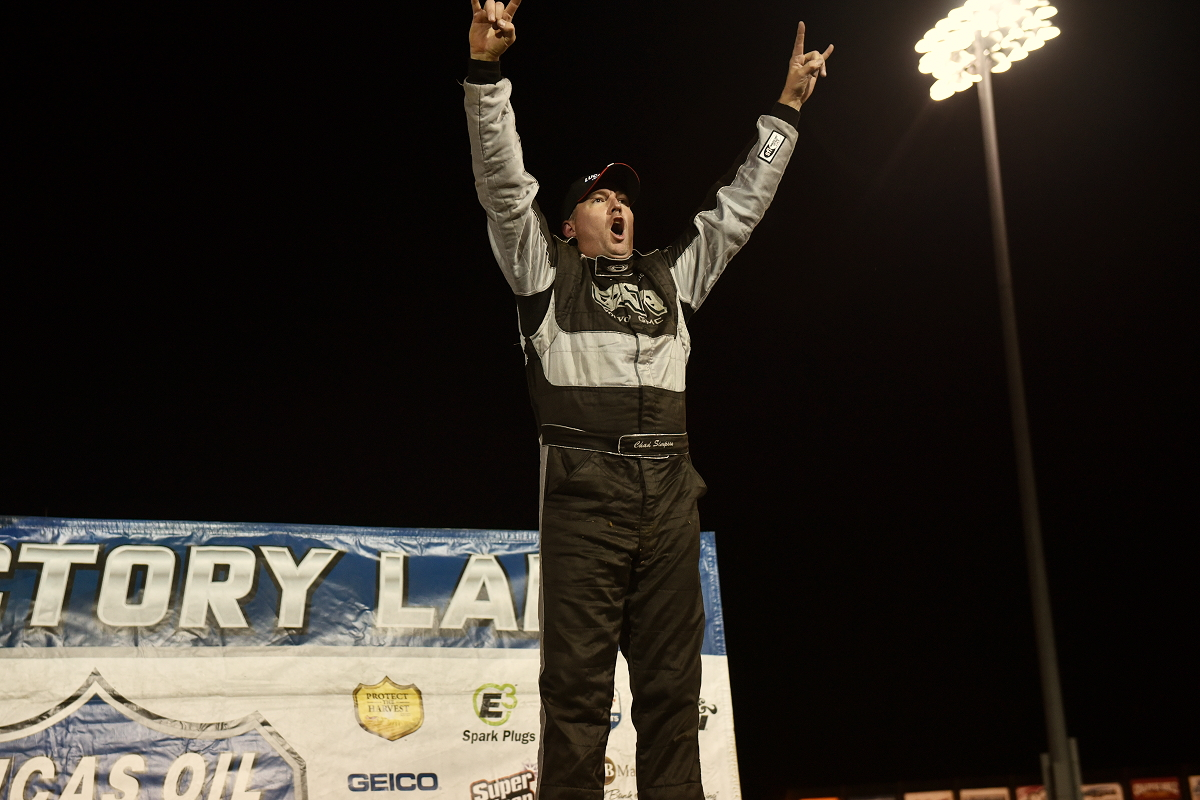Simpson wins MLRA Fall Nationals, clinches series title at Lucas Oil Speedway
