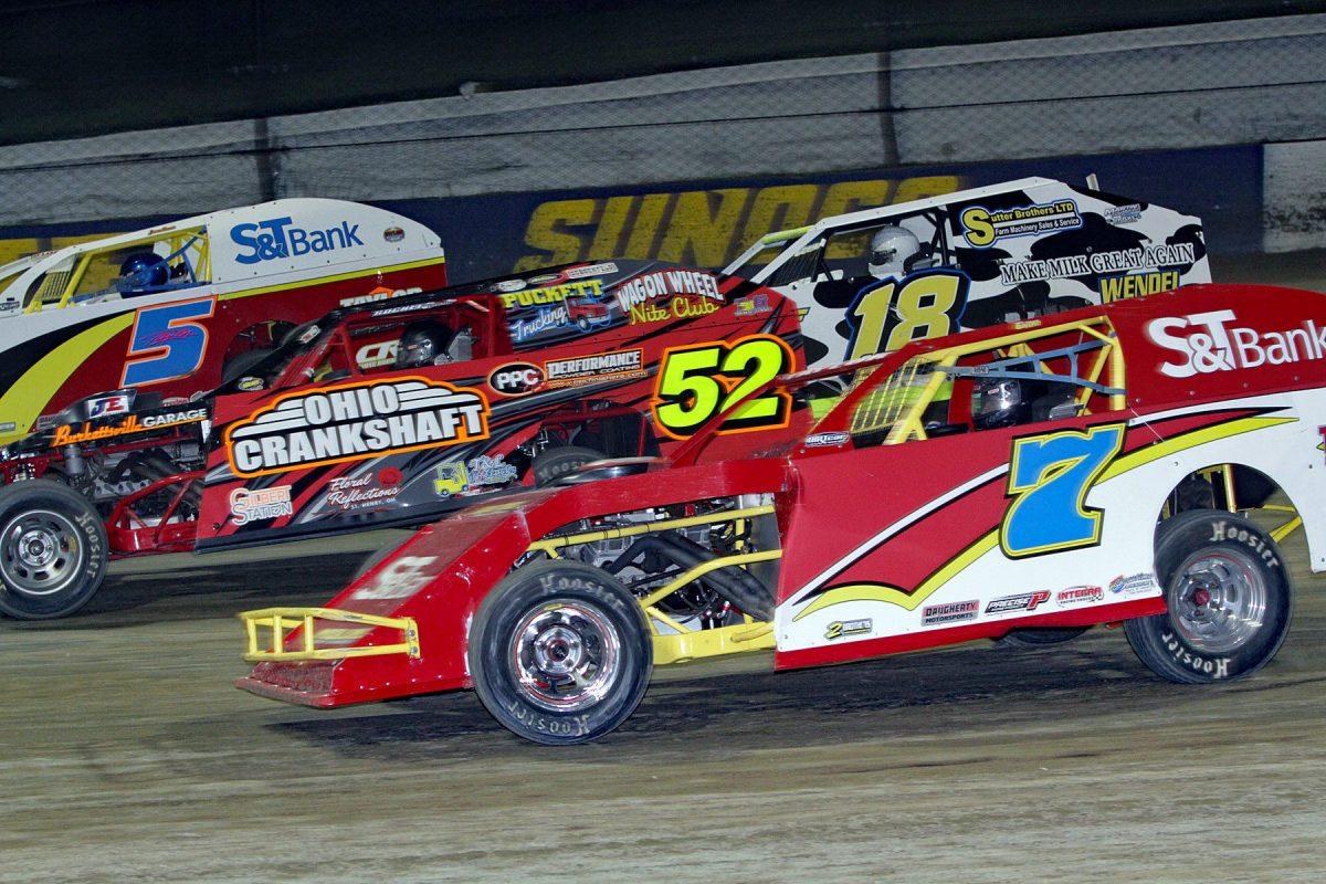 Jim Denhamer's photos from Eldora Speedway's World of Outlaw Sprints & UMP Mods - 10/14/18