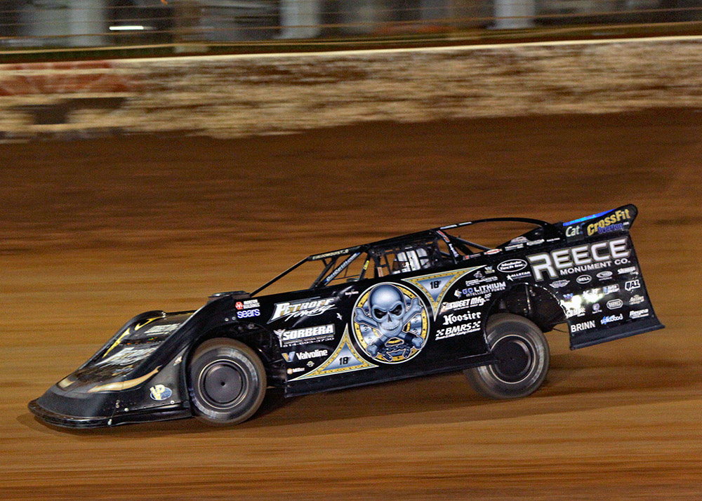 Scott Bloomquist penalized by Lucas Dirt Late Model Series