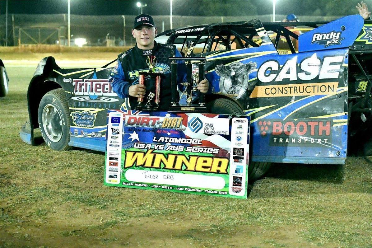 Tyler Erb Collects Second Win of 2019 with Collie Conquest