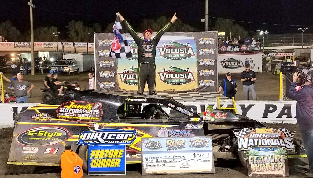 """Kyle Strickler Doubles Down For $5K; Nick Hoffman """"Four-Peats"""" As DIRTcar Nationals Champion"""
